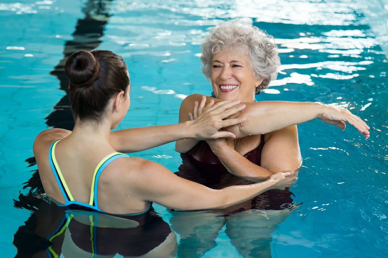 Aquatic Therapy + Arthritis