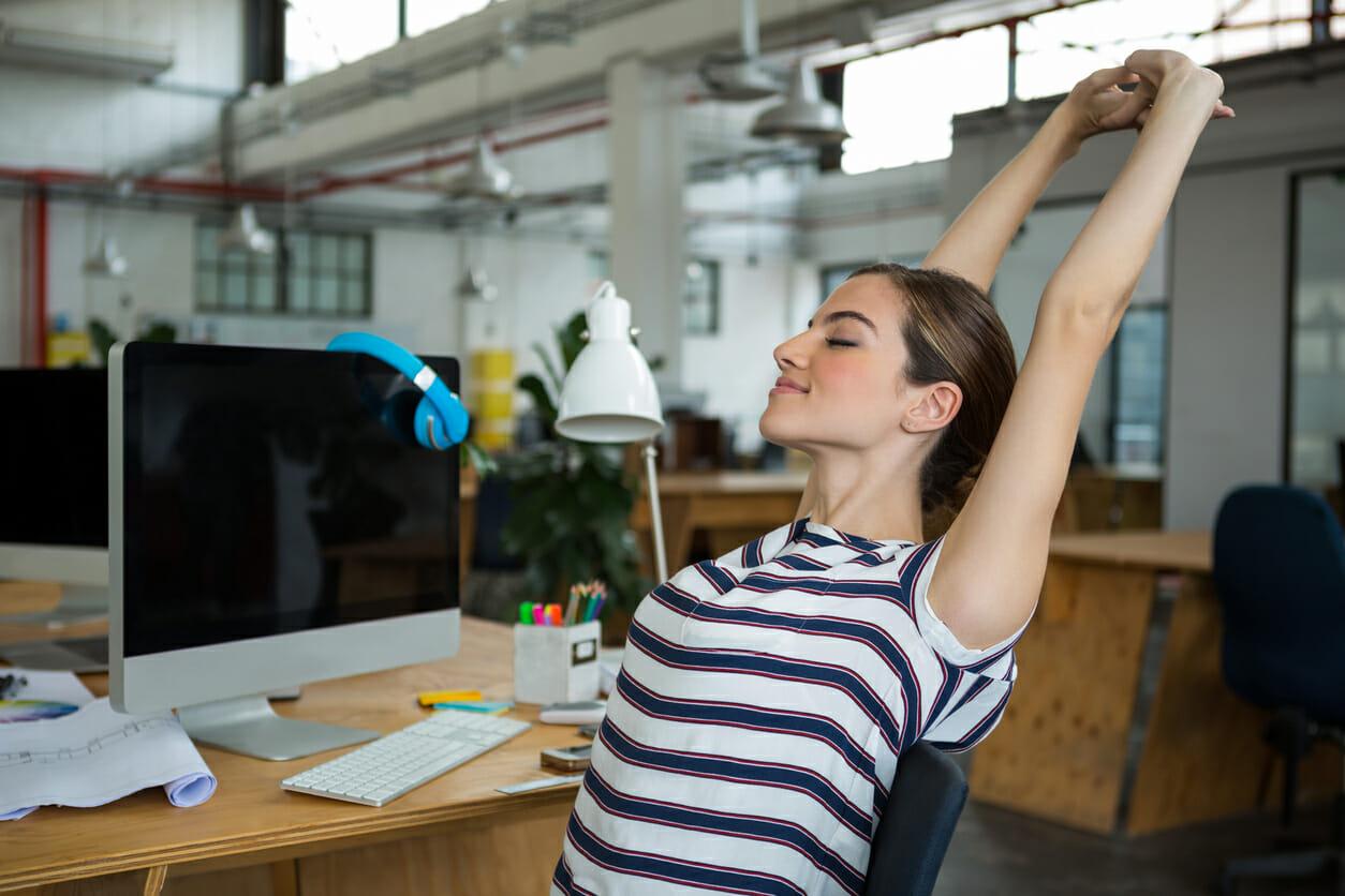 Exercising at Work