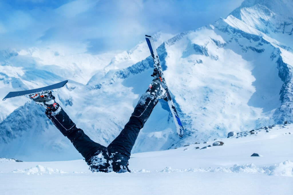 Newbie skier