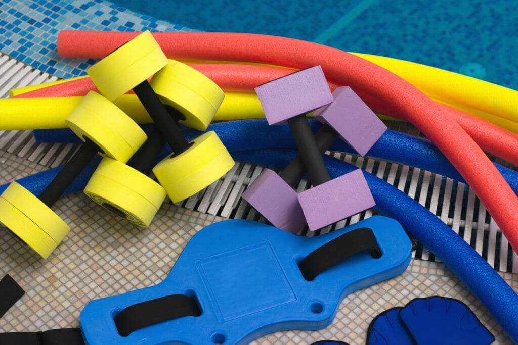 aquatic therapy weights and equipment
