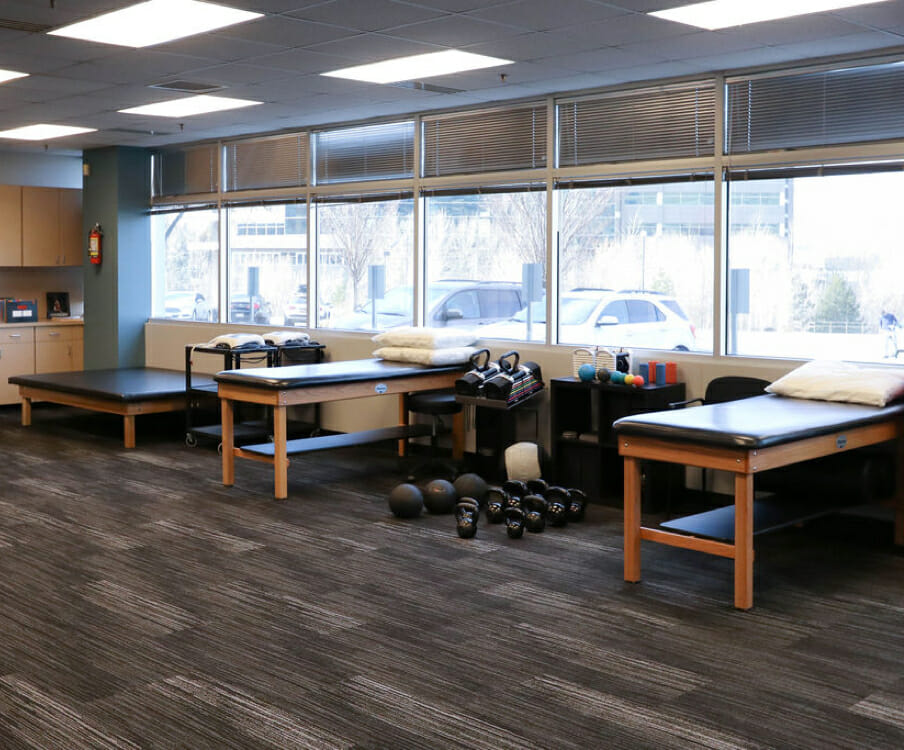 Sandy physical therapy weights and equipment