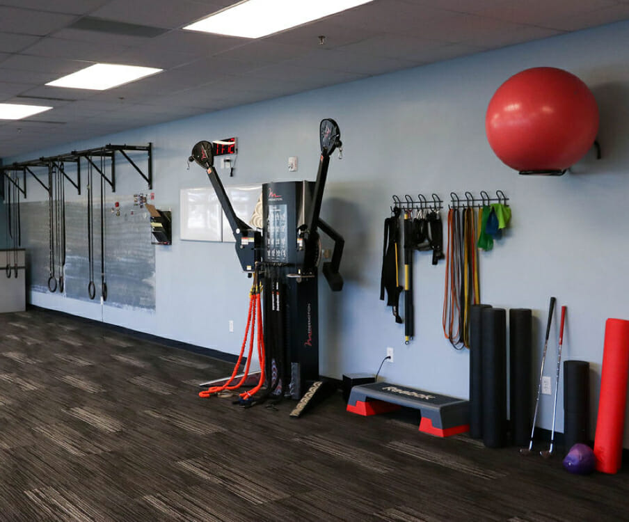 State-of-the-art physical therapy equipment in Cottonwood Heights