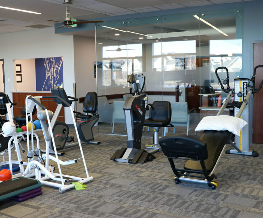 State-of-the-art physical therapy equipment in Draper