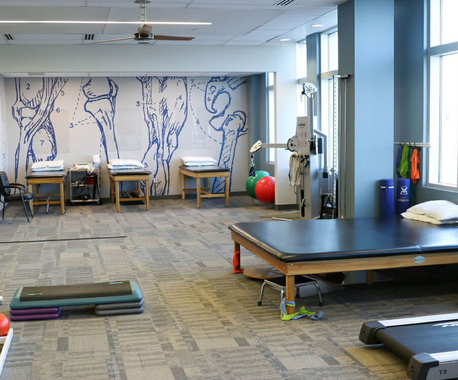 Draper physical therapy office