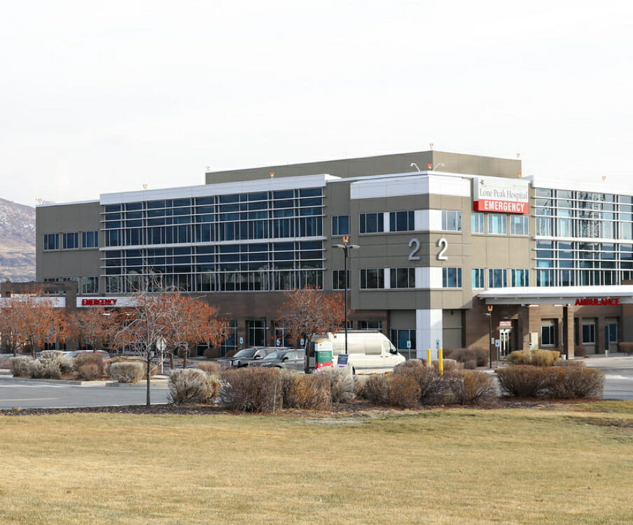 Inpatient and outpatient physical therapy care at Lone Peak Hospital in Draper
