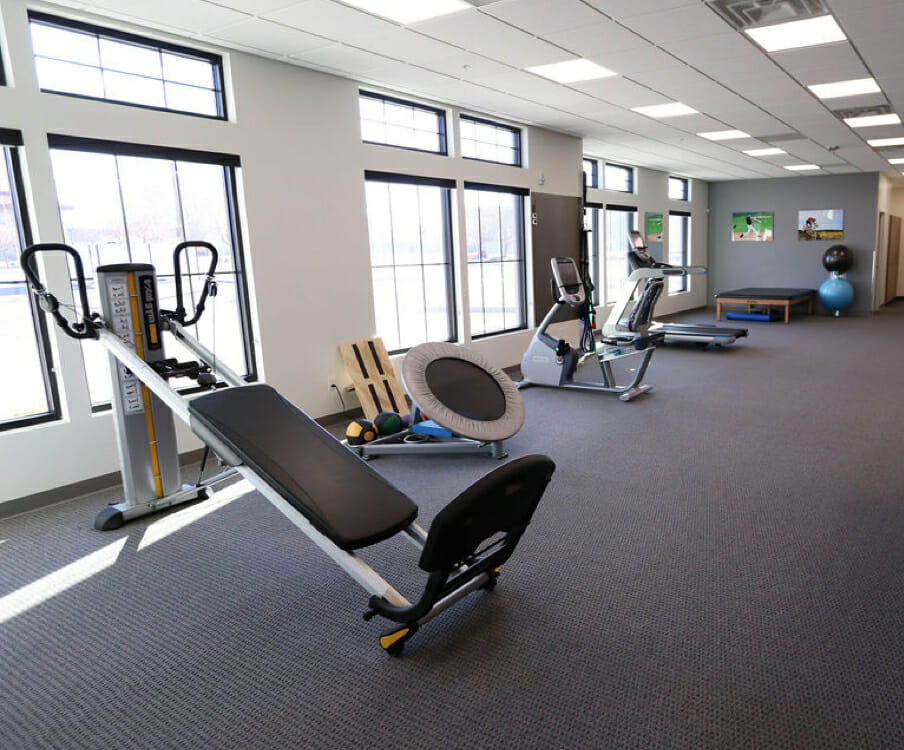 Murray physical therapy gym and equipment
