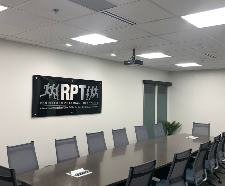 Conference room at RPT admin office