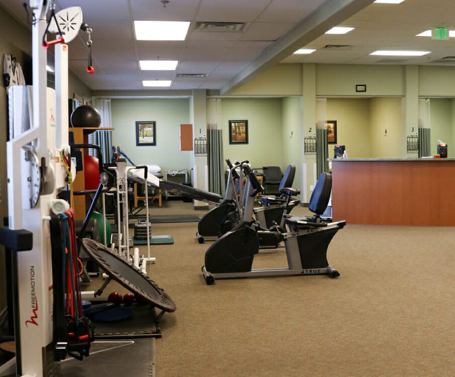 State-of-the-art physical therapy equipment in Riverton