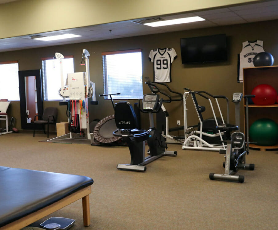 physical therapy gym and equipment in Riverton