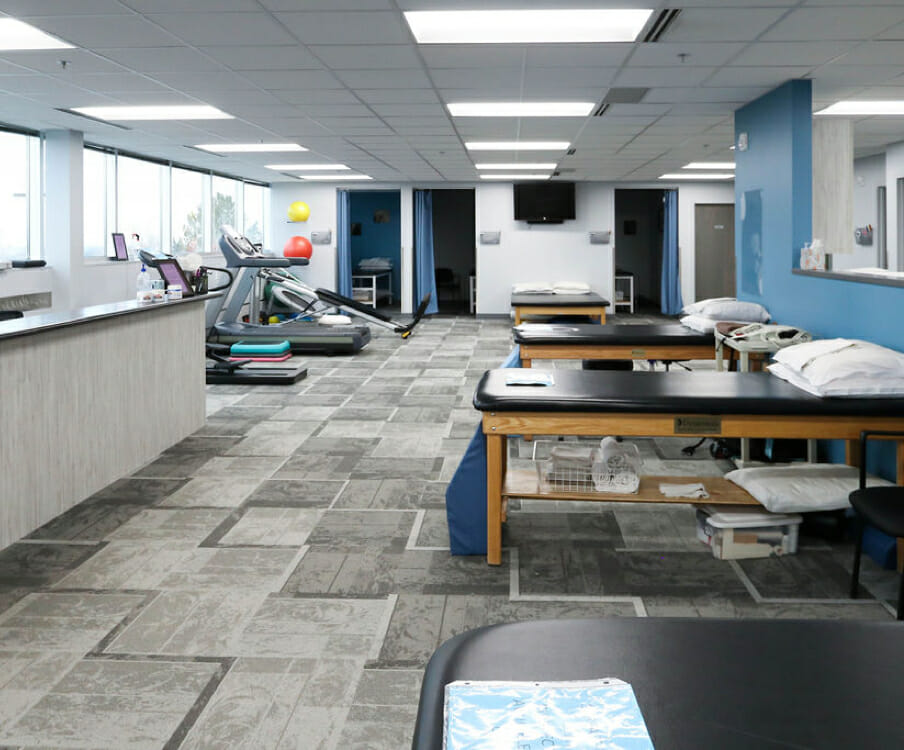 Sandy physical therapy facility