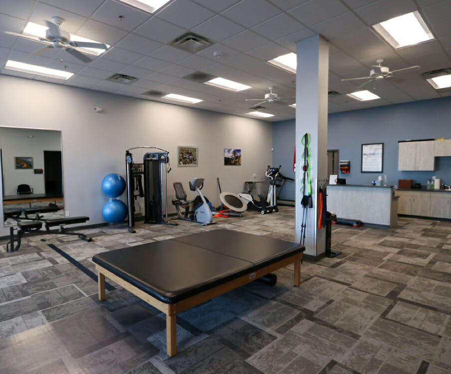 orthopedic physical therapy gym in Saratoga Springs