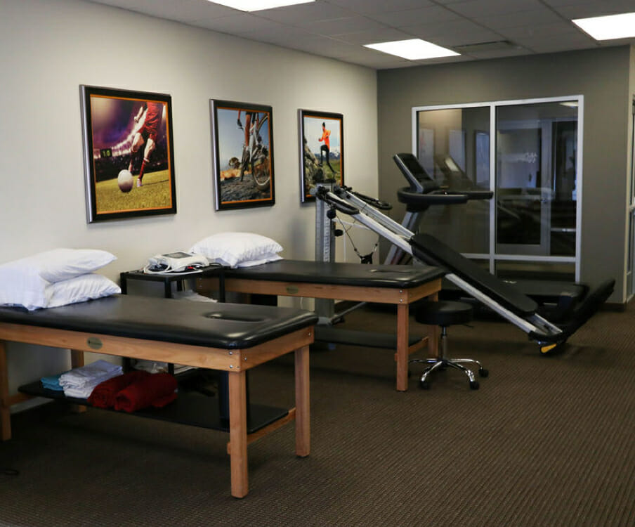 South Bangerter physical therapy equipment