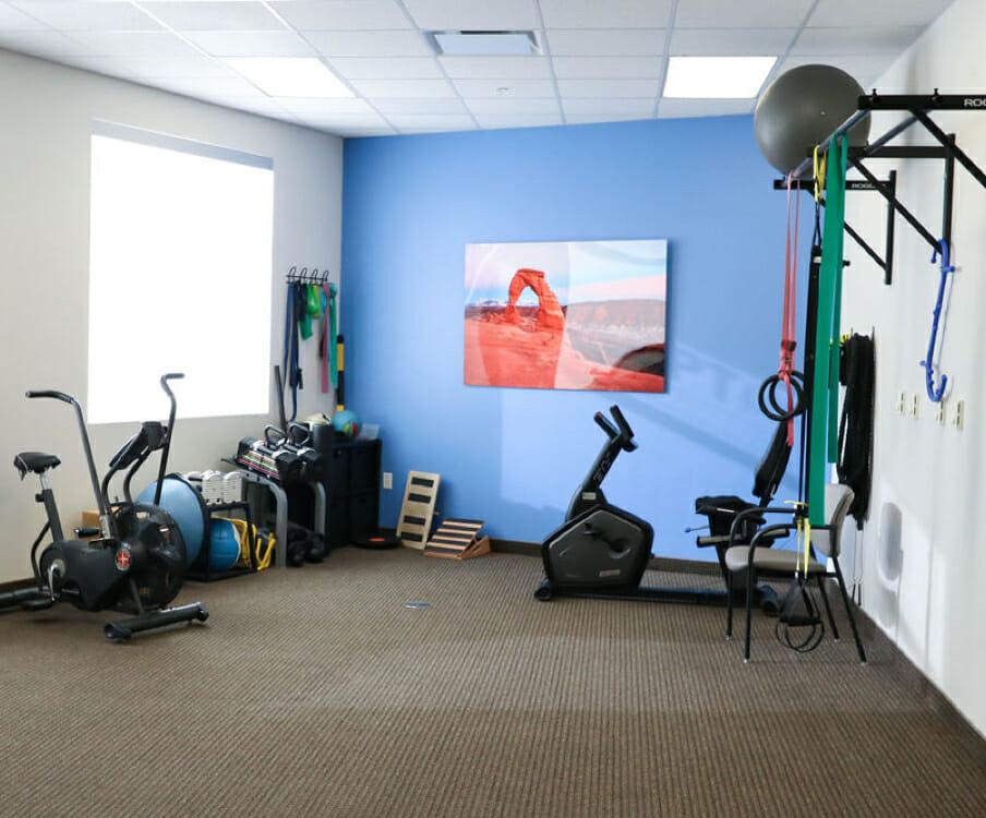 Gym in South Bangerter RPT office