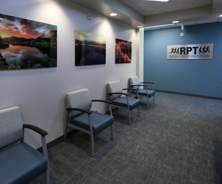 waiting area in South Jordan RPT office