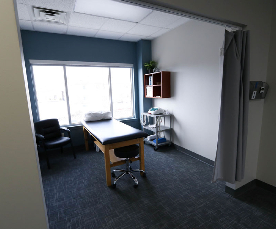 South Jordan physical therapy exam room