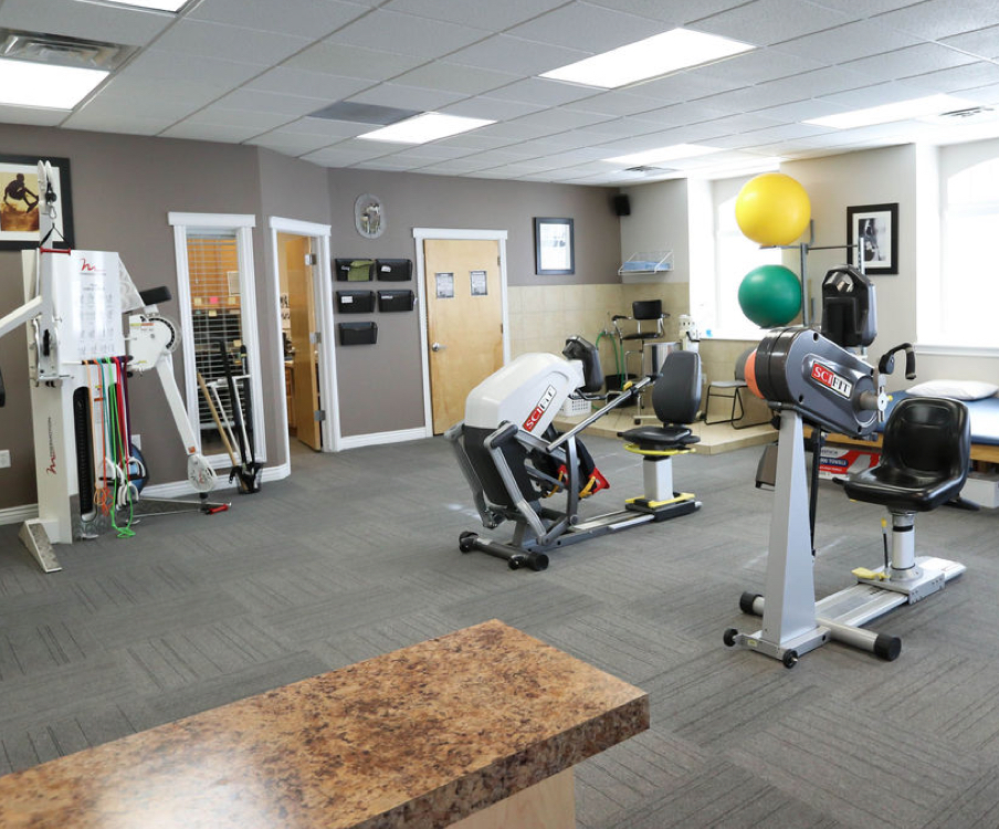 State-of-the-art physical therapy equipment in West Jordan